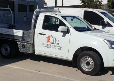 Builders Supply Group Vehicle